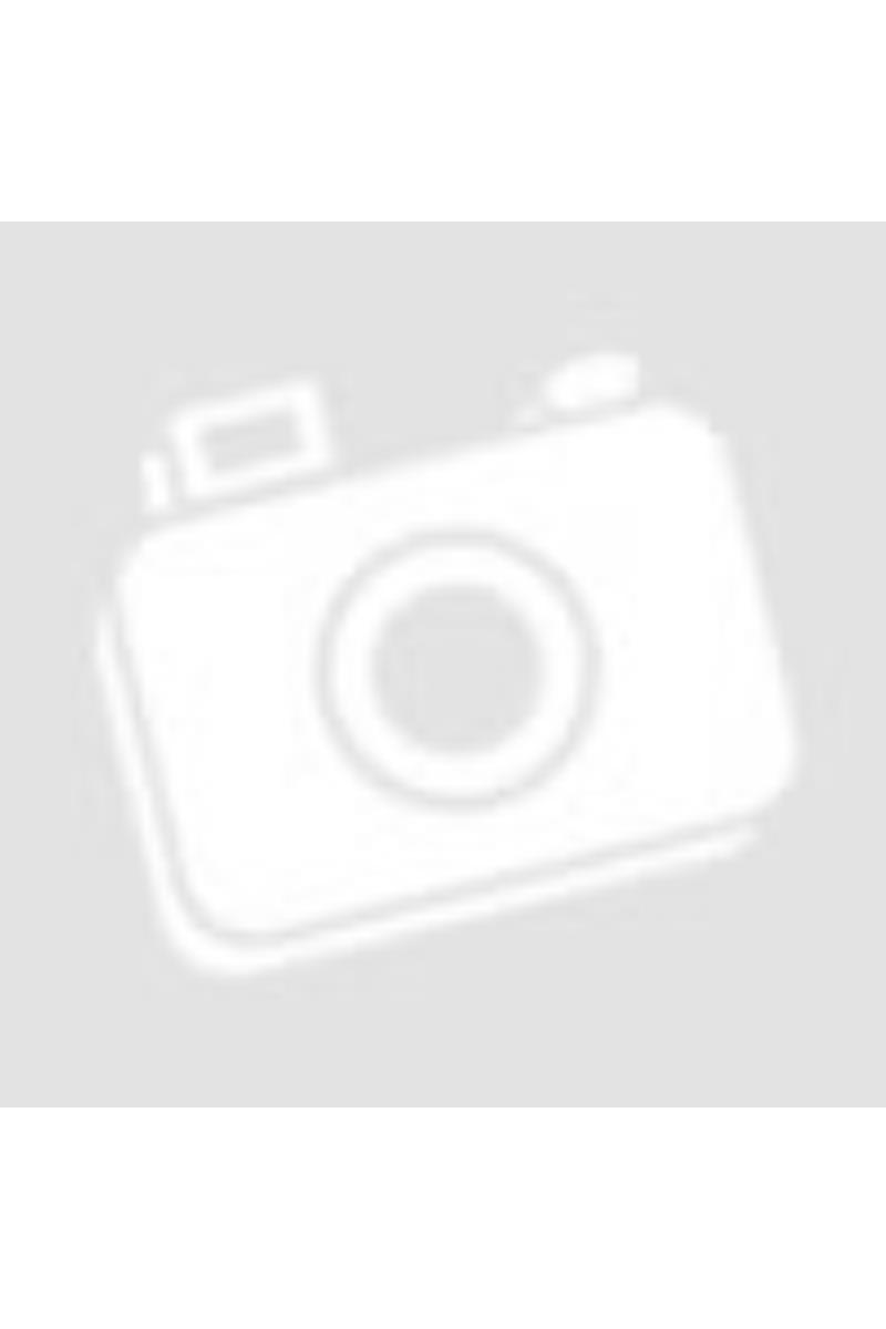 Szürke strasszos kapucnis pulóver